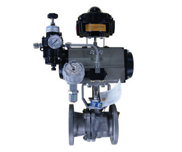 Water Media Pneumatic On Off Valve DN25-DN500 With ISO 9001 Pneumatic Air Control Valve
