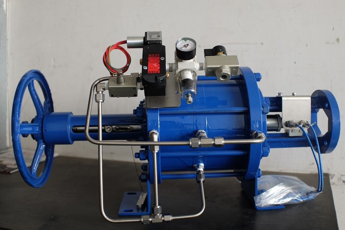 Single Acting Pneumatic Linear Actuator For Gate Valves